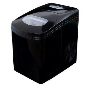 Gastronoma Ismaskine Ice cube maker 1.7L spray black.150 watt